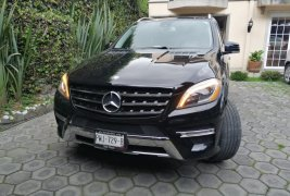 En venta un Mercedes-Benz Clase M 2012 Manual en excelente condición