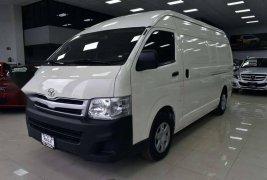 Toyota Hiace panel 2013 crédito hasta 60 meses