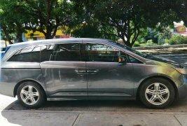 Honda Odyssey 2011 touring v6 3.5 lts automática, asientos de piel beige impecables, pintura impecabl