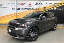 Auto Dodge Durango 2018 de único dueño en buen estado